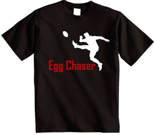Egg Chaser t Shirt Novelty Rugby t-Shirt from Shoebob